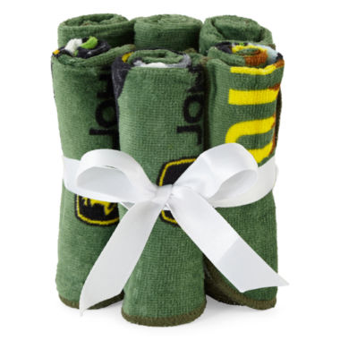 jcpenney.com | John Deere® 6-pk. Washcloth Set