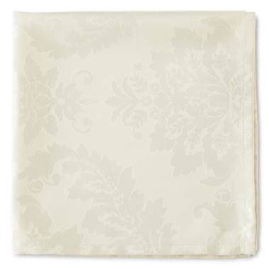 jcpenney.com | JCPenney Home™ Florence Damask Set of 4 Napkins