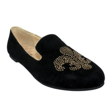 jcpenney.com | Fleur-de-Lis Quilted Smoking Shoes