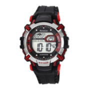 Armitron® Mens Red Strap Watch 40/8312REDJ