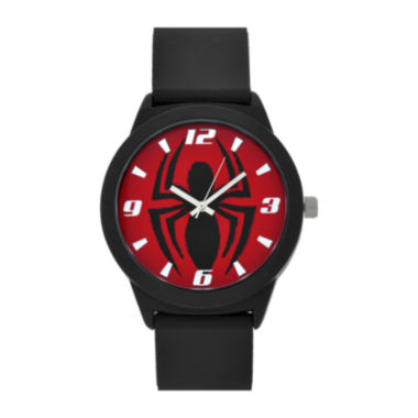 jcpenney.com | Spiderman Red Dial Black Strap Watch