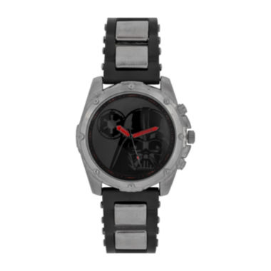 jcpenney.com | Star Wars® Mens Black Red Strap Watch