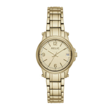 jcpenney.com | Relic® Womens Gold Zr34346 Bracelet Watch