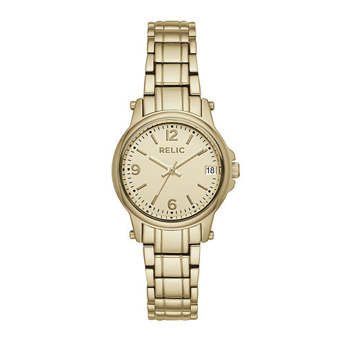 Relic® Womens Gold Zr34346 Bracelet Watch