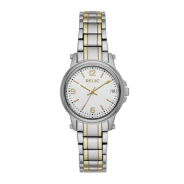 jcpenney.com | Relic® Womens Two-Tone Zr34347 Bracelet Watch