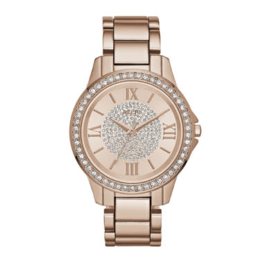 jcpenney.com | Relic® Womens Rose Crystal Zr12178 Bracelet Watch