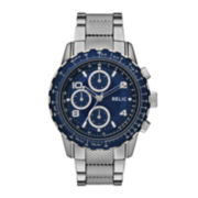 Relic® Mens Silver Blue Zr15817 Watch