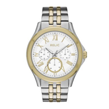 jcpenney.com | Relic® Mens Two-Tone Zr15823 Watch