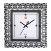 Bulova® Metallic Wall Clock