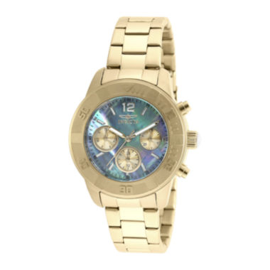 jcpenney.com | Invicta® Angel Womens Mother-of-Pearl Dress Watch 21612