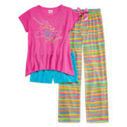 Sleep On It 3-pc. Unicorn Pajama Set - Girls 4-16