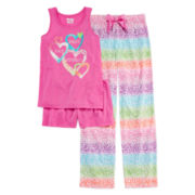 Sleep On It 3-pc. Best Day Pajama Set - Girls 4-16