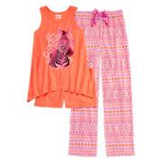 Sleep On It 3-pc. Zebra Pajama Set - Girls 4-16