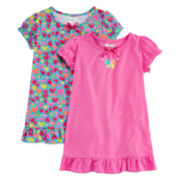 Sleep On It 2-pc. Gown Pajama Set - Toddler Girls 2t-4t