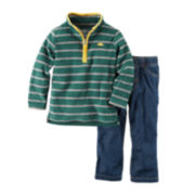 Carter's® Pullover and Pants - Baby Boys newborn-24m