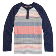 Arizona Raglan Henley Tee - Boys 8-20