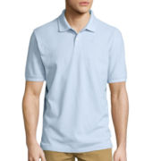 St. John's Bay® Short-Sleeve Legacy Oxford Piqué Polo