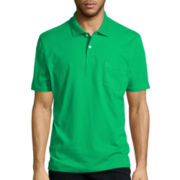 St. John's Bay® Short-Sleeve Jersey Polo
