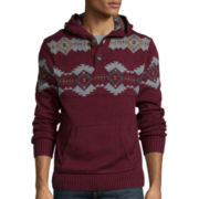 Arizona Long-Sleeve Henley Sweater