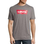 Levi's® Short-Sleeve Batwing Logo T-Shirt