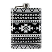 Wembley™ 8-oz. Aztec Flask