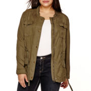 Arizona Cargo Jacket - Juniors Plus