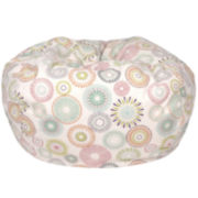 Cotton Pinwheel Beanbag