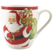 Fitz and Floyd® Letters To Santa Set of 2 Mugs
