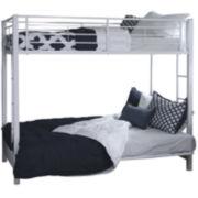 Pearson Twin Bunk Bed Over Futon