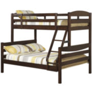 Whitman Twin-Over-Full Bunk Bed