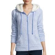 Made for Life™ Fleece Hoodie Sweatshirt with Sherpa Hood