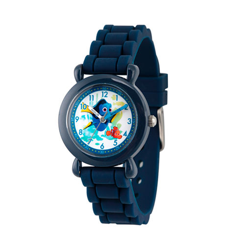 Disney Boys Blue Strap Watch-Wds000003