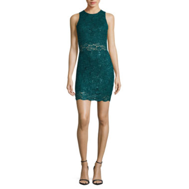 jcpenney.com | Love Reigns Sleeveless Sequin Bodycon Dress-Juniors
