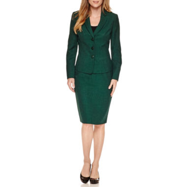 jcpenney.com | Le Suit Long Sleeve 3-Button Skirt Suit