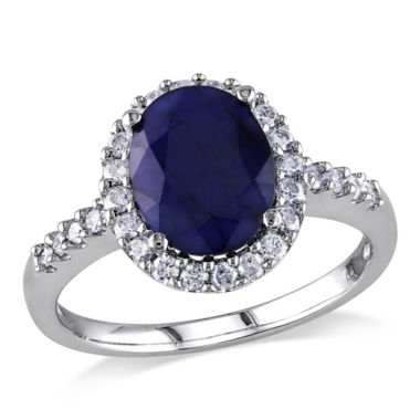 jcpenney.com | Blue Sapphire 14K Gold Engagement Ring