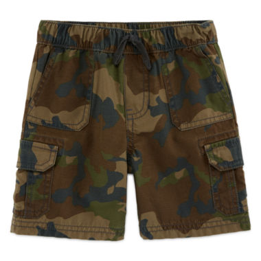 jcpenney.com | Arizona Twill Cargo Shorts - Toddler Boys