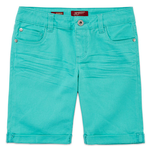 Arizona Knit Bermuda Shorts - Big Kid Girls