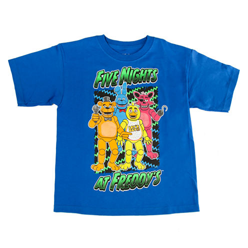 Five Nights at Freddy's Graphic T-Shirt-Preschool 4-7