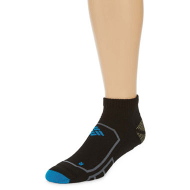 jcpenney.com | Columbia® Mens Midweight Performance Running Low Cut Socks