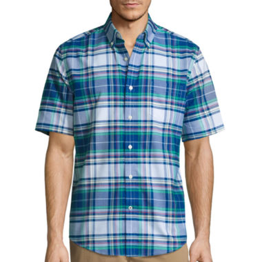 jcpenney.com | St. John's Bay® Short-Sleeve Button-Front Easy-Care Shirt
