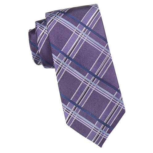 Collection By Michael Strahan Wicked Plaid Tie
