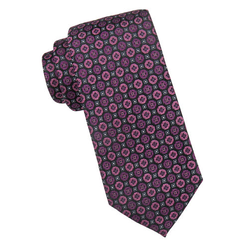 Collection By Michael Strahan Hamilton Medallion Tie
