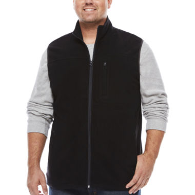 jcpenney.com | The Foundry Big & Tall Supply Co. Fleece Vest Big and Tall