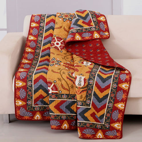 Greenland Home Fashions Farrah Quilted Throw