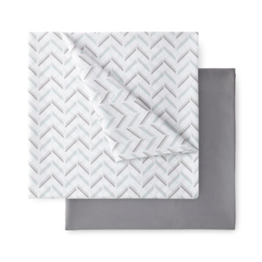 jcpenney.com | Home Expressions Microfiber 2-pk Sheet Set