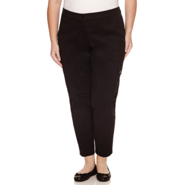 jcpenney.com | Liz Claiborne Curvy Fit Slim Pants-Plus