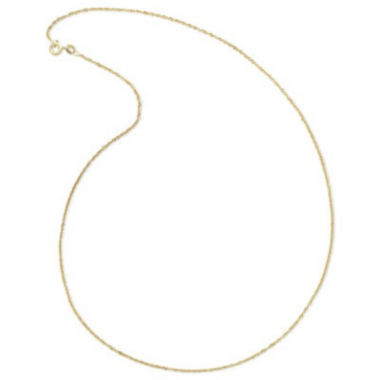 jcpenney.com | 14K Yellow Gold Singapore Chain Necklace