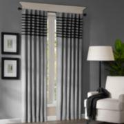Dune Rod-Pocket/Back-Tab Curtain Panel Pair