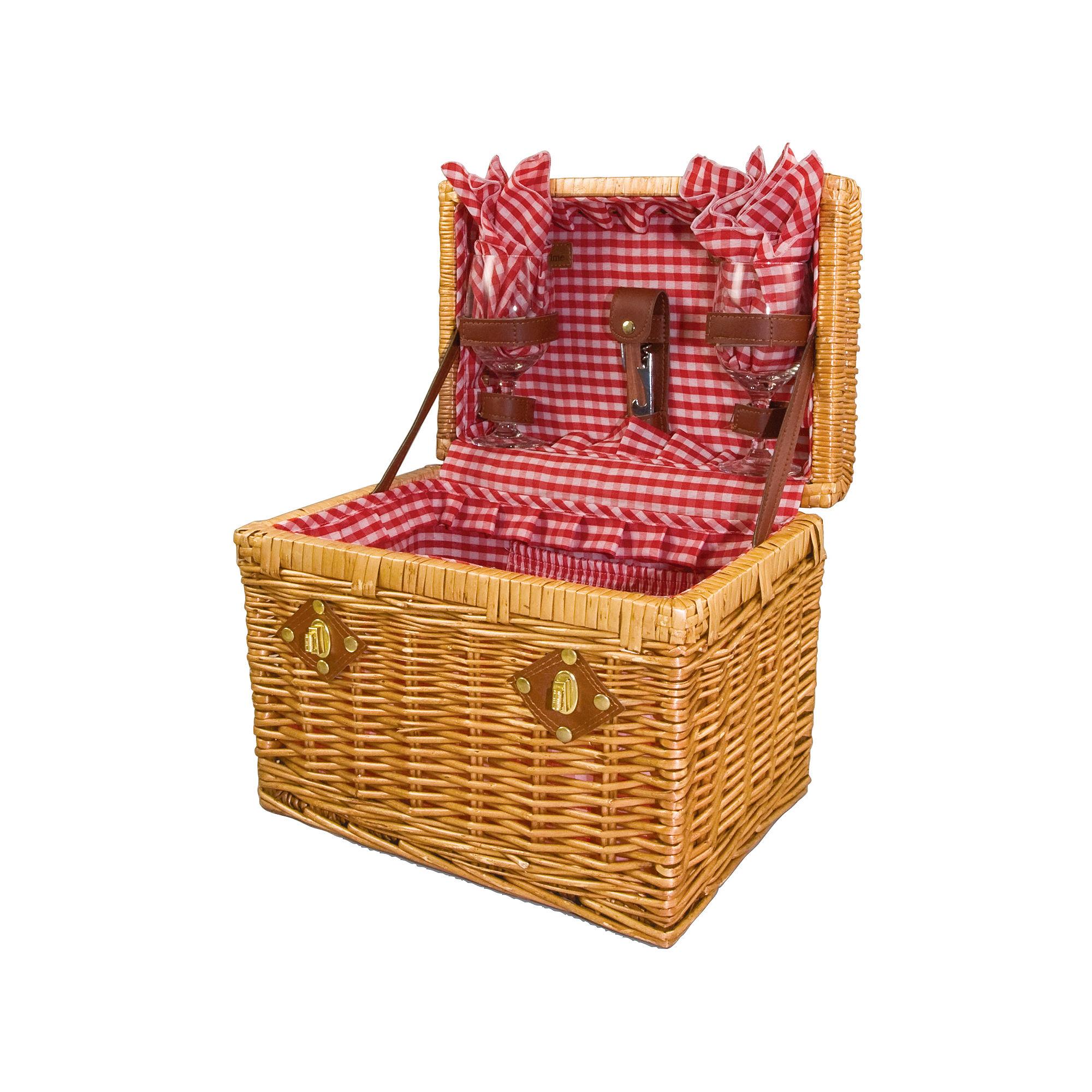 Picnic Time Chardonnay Wine Picnic Basket
