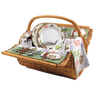 jcpenney.com | Picnic Time® Barrel Picnic Basket for Two